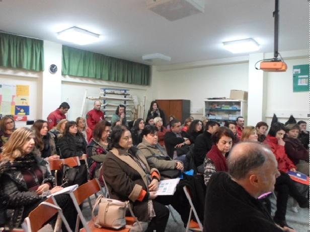 Εισαγωγική επιμορφωτική συνάντηση εκπαιδευτικών στο 13ο Δημοτικό Σχολείο Καλαμάτας