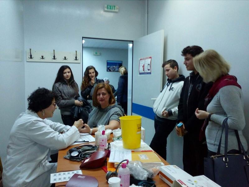 Γυμνάσιο Μούδρου: «Νοιάζομαι και Δρω» για την εθελοντική αιμοδοσία