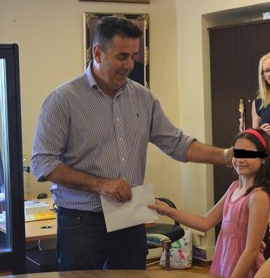 Το Δήμαρχο Ναυπλιέων επισκέφτηκαν μαθητές του 6ου Δημοτικού Σχολείου Ναυπλίου