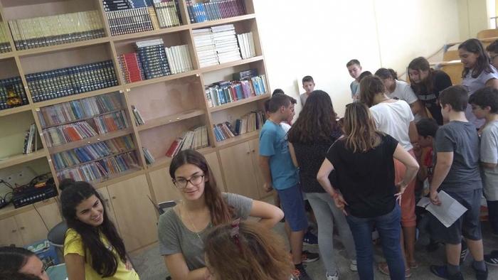 «Νοιάζεται και δρα» το 5ο Γυμνάσιο Μυτιλήνης