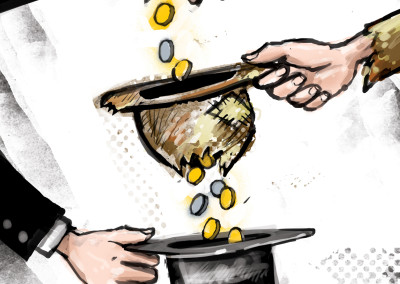 Cartoon by Jaksa Vlahovic-Serbia