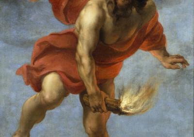 Prometeo trayendo el fuego - Oil on canvas, Jan Cossiers, 1637- Prado museum