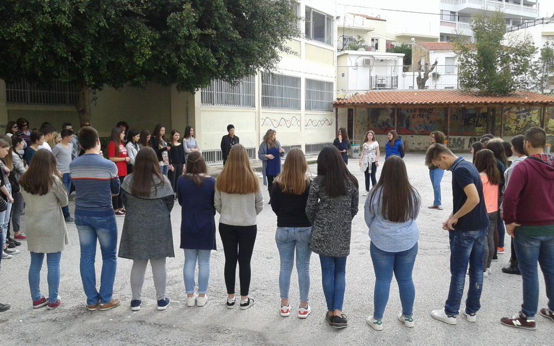 Αγώνες Ρητορικής για τον Εθελοντισμό από το Πρότυπο Γυμνάσιο Ευαγγελικής Σχολής Σμύρνης