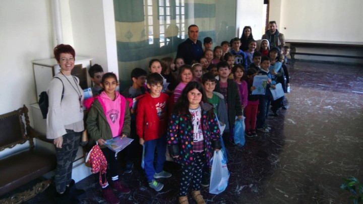 Επίσκεψη μαθητών του 5ου ΔΣ Πόλεως Ρόδου στην Περιφέρεια Νοτίου Αιγαίου