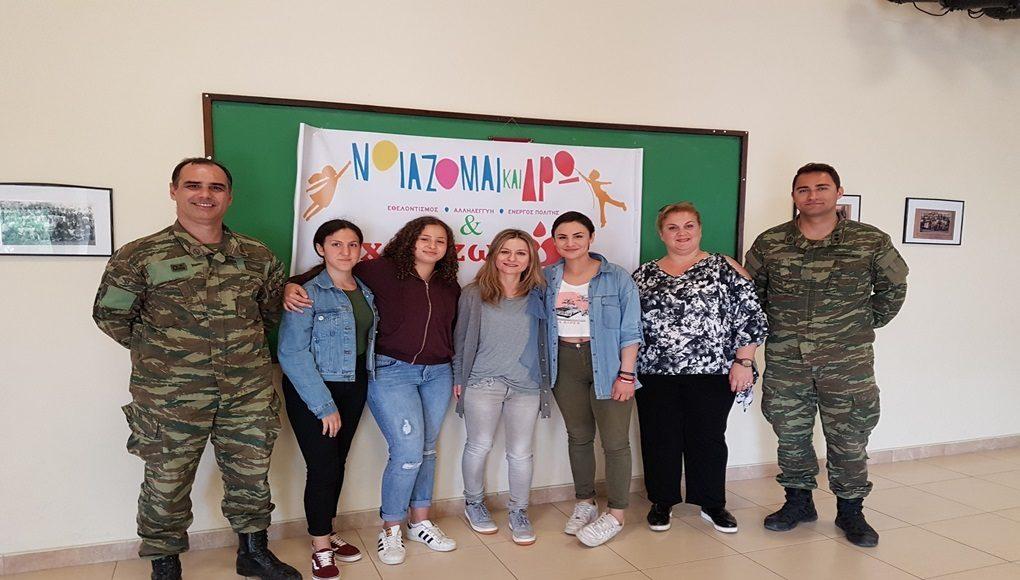 Το κοινωνικό πρόσωπο του στρατού της Λήμνου, η 88 ΣΔΙ Νοιάστηκε και 'Εδρασε