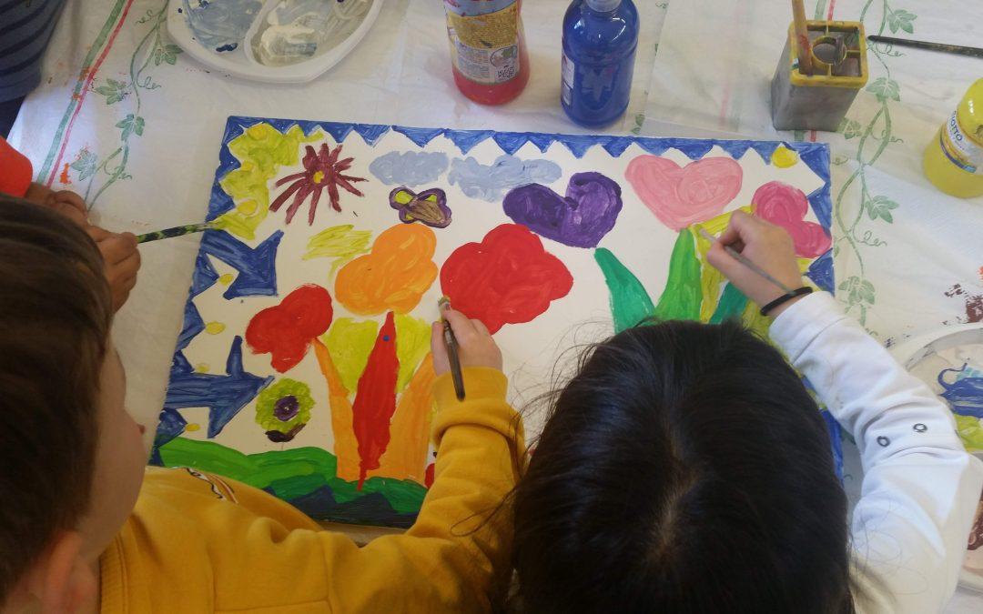 Ζωγραφίζοντας την Παιδιατρική Κλινική του Νοσοκομείου Σερρών