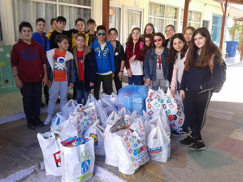 Μία εμπειρία εθελοντισμού στο 16ο Δημοτικό Σχολείο Ρεθύμνου και στο Πειραματικό Γυμνάσιο Πανεπιστήμιου Κρήτης