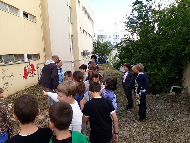 Επιμένουμε για τη δημιουργία σχολικού κήπου!