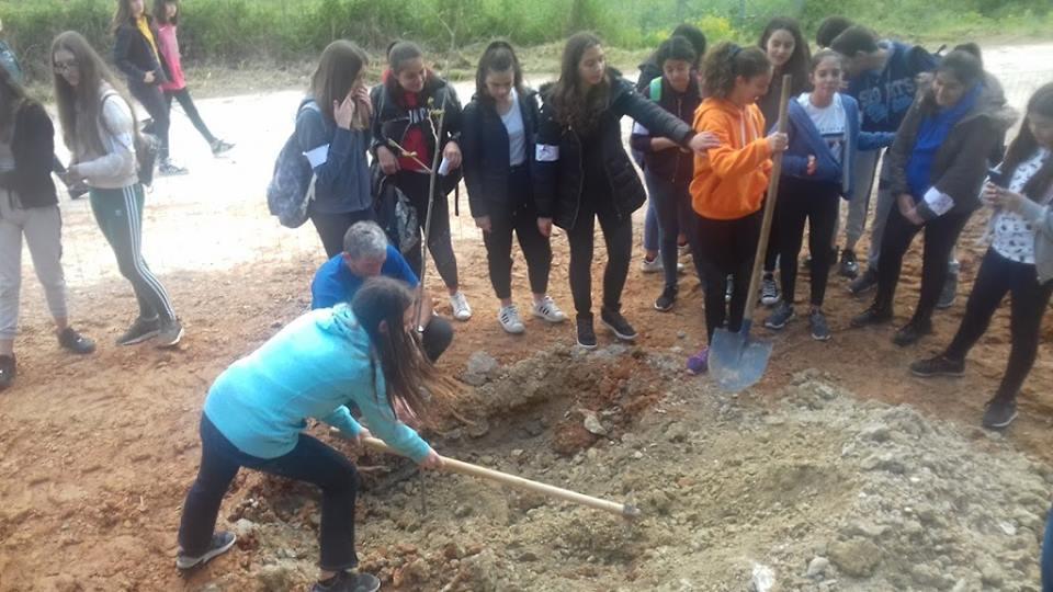 Κοινή Δράση Δενδροφύτευσης από τα σχολεία των Χανίων