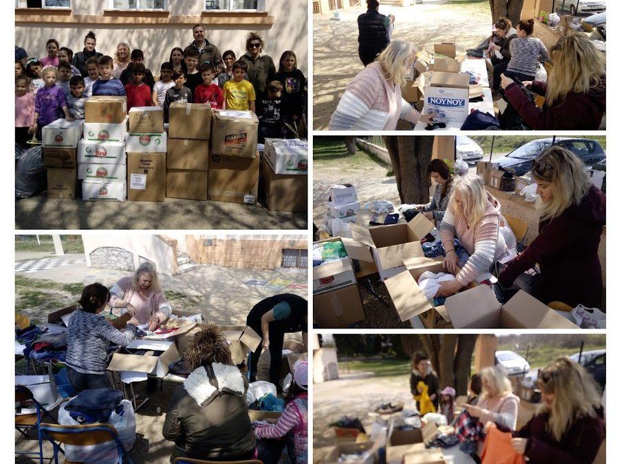 Η Σχολική Εβδομάδα Εθελοντισμού για τους πρόσφυγες