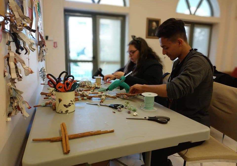 Οι οικογένειες στο 2ο Γυμνάσιο Αρτέμιδας προσφέρουν αγάπη