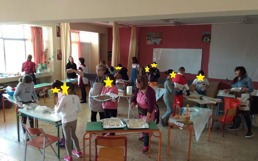 Το 10ο Δημοτικό Σχολείο Χαλκίδας παρασύρεται από τα 'Ρεύματα Εθελοντισμού' και προσφέρουν μαζί γεύματα αγάπης!
