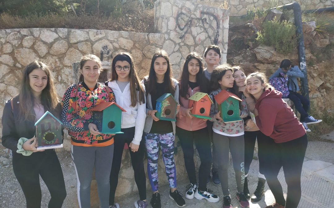 """Μαθητές """"υιοθετούν"""" ένα Πάρκο Ειρήνης και Φιλίας των Λαών και στέλνουν το δικό τους μήνυμα"""