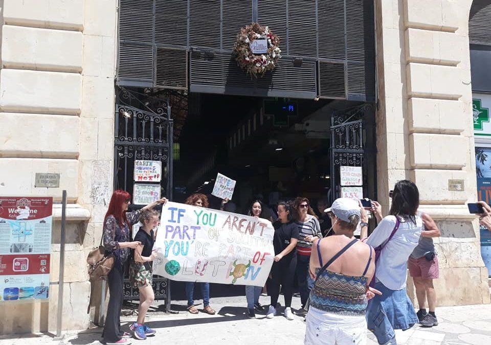 """Μια καλλιτεχνική """"διαμαρτυρία"""" για το περιβάλλον!"""