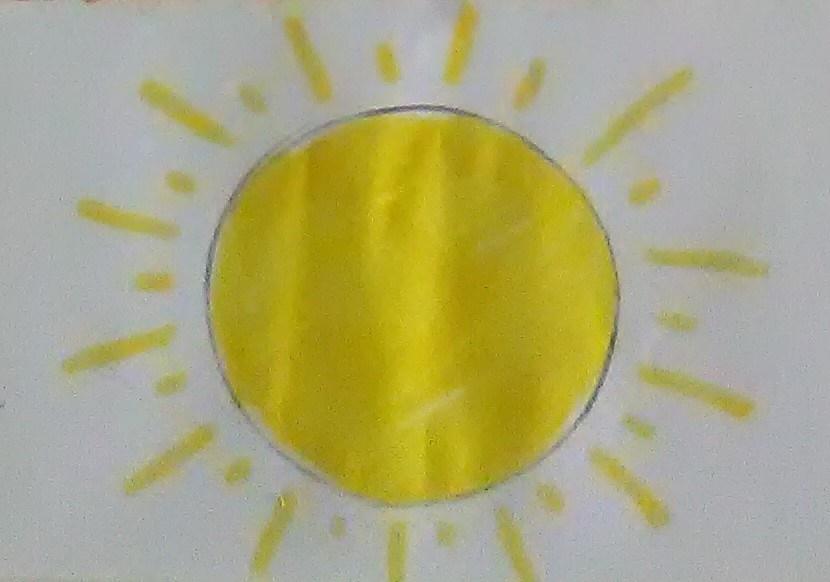Ζωγραφίζουμε τον Ήλιο