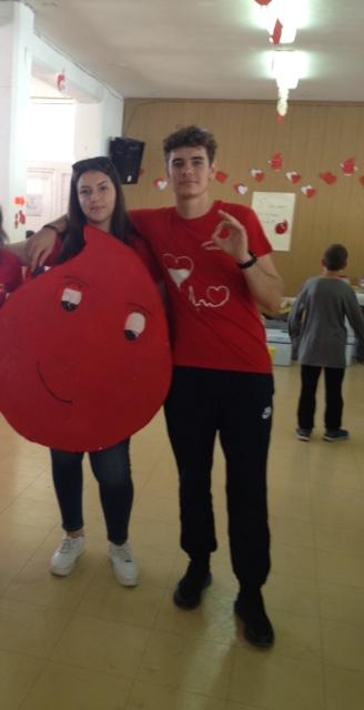 54 φιάλες αίματος από το ΓΕΛ Αφάντου! Ημέρα Εθελοντικής Αιμοδοσίας